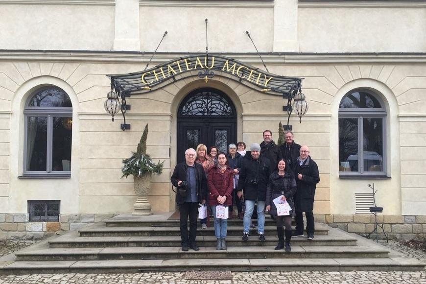 Chateau Mcely press trip