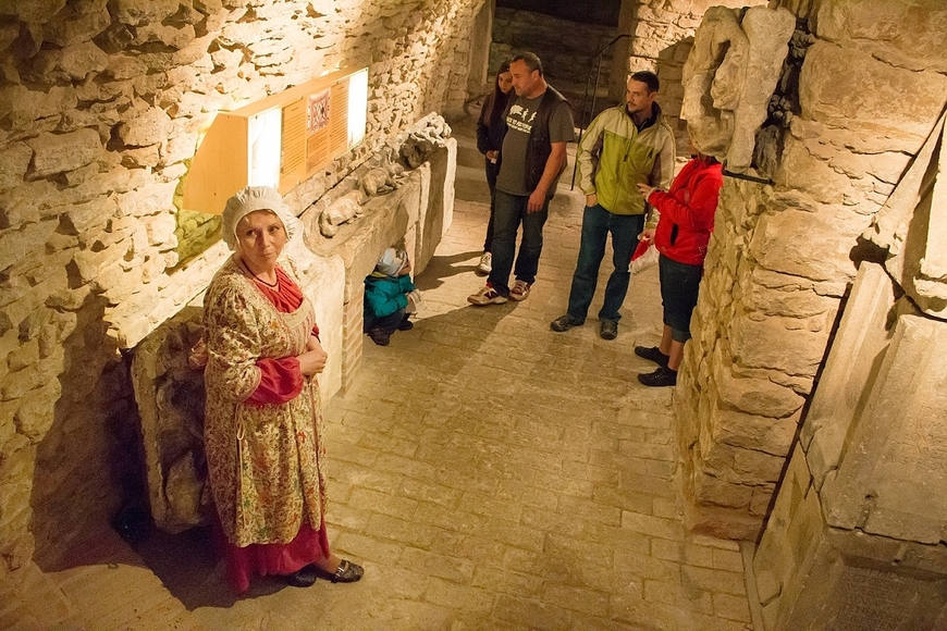 Noční prohlídky Lapidária_archiv Českého muzea stříbra