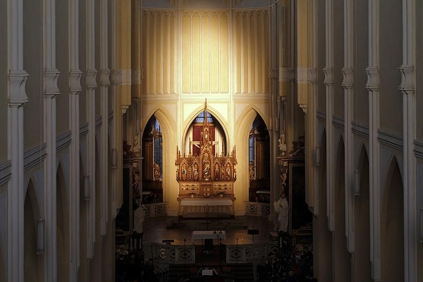 Rovnodennost v Sedlecké katedrále_Jan Šmok (2)