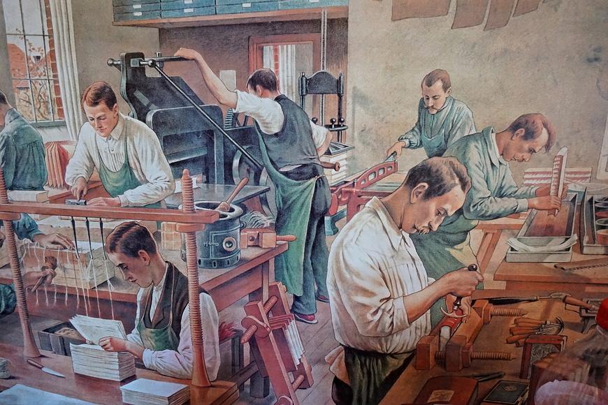 Muzeum knihtisku - KNIHTISKÁRNA